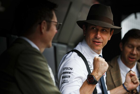 Toto Wolff in Hockenheim - Foto: LAT Images