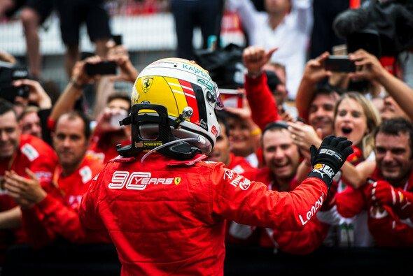 Sebastian Vettel hatte beim Formel-1-Rennen eine zuweilen mühsame Aufholjagd - Foto: Ferrari