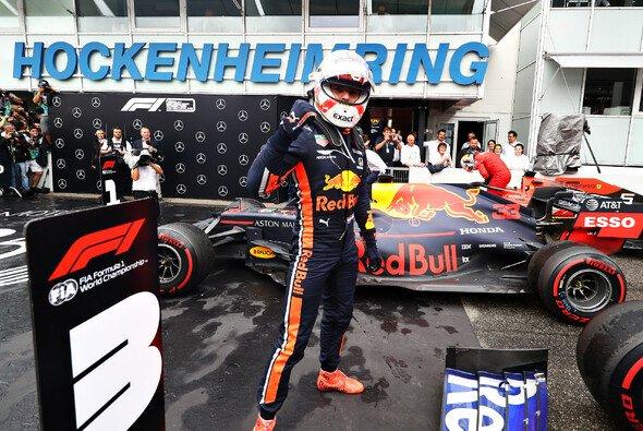 Max Verstappen würde bei Netflix gerne viel Hockenheinm sehen - nicht wegen seines Sieges ... - Foto: Red Bull