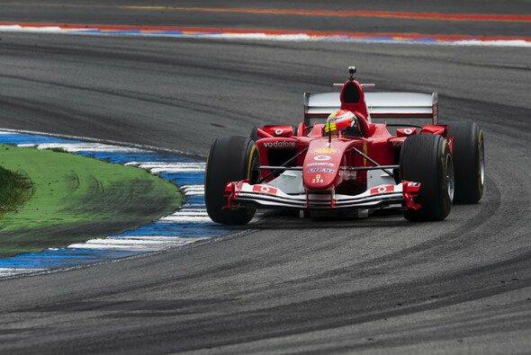 Mick Schumacher fuhr schon in Hockenheim 2019 den F2004 - Foto: Ferrari
