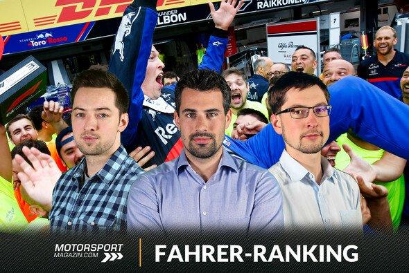 Daniil Kvyat war mit seinem dritten Platz im Toro Rosso die Sensation des Formel-1-Rennens in Hockenheim - Foto: LAT Images/Motorsport-Magazin.com