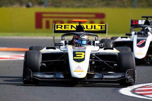 Christian Lundgaard siegt im ersten Formel-3-Rennen in Ungarn - Foto: LAT Images