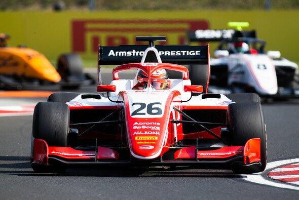 Ferrari-Youngster Marcus Armstrong gewann das Sonntagsrennen der Formel 3 in Ungarn - Foto: LAT Images
