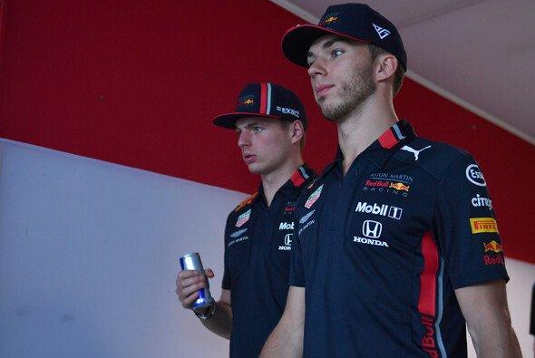 Pierre Gasly stand im Qualifying mehr als nur im Schatten Max Verstappens - Foto: LAT Images