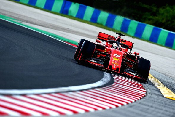 Sebastian Vettel startet den Ungarn GP von Platz fünf - Foto: Ferrari