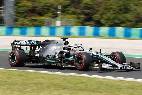 Lewis Hamiltons Mercedes lag in Ungarn im Qualifying nicht mehr perfekt - Foto: Mercedes-Benz