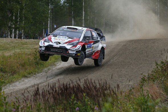 Ott Tänak bescherte Toyota den dritten Finnland-Sieg in Folge - Foto: LAT Images