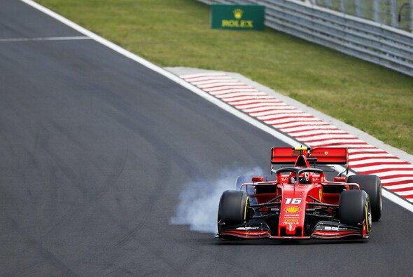 Ferrari verlor in Ungarn mehr als eine Minute auf Lewis Hamilton - Foto: LAT Images
