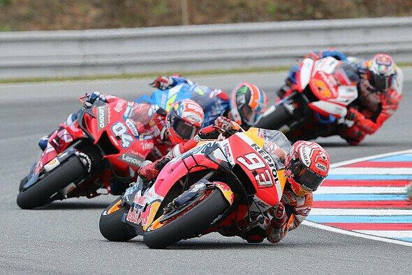 Marquez schüttelte Dovizioso in der zweiten Rennhälfte ab - Foto: LAT Images