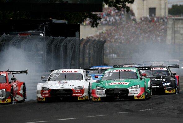 Rene Rast und Nico Müller: Audi-Markenkollegen kämpfen um den DTM-Titel - Foto: LAT Images