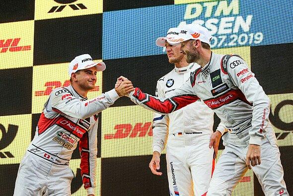 Große Diskussionen in Brands Hatch, ausgelöst durch Timo Scheider - Foto: Audi Communications Motorsport