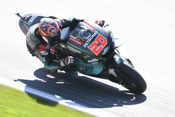 Erster im MotoGP-FP1 von Silverstone: Fabio Quartararo - Foto: Petronas Yamaha SRT