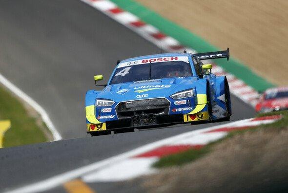 Robin Frijns führt ein Audi-Quartett beim DTM-Qualifying in Spa an - Foto: DTM