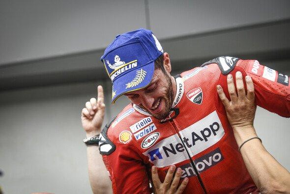 Andrea Dovizioso triumphierte in Spielberg über Marc Marquez - Foto: MotoGP