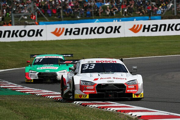 Rene Rast führt die DTM-Meisterschaft mit 20 Punkten Vorsprung vor Nico Müller an - Foto: Audi Communications Motorsport