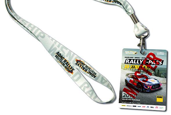 ADAC Mitglieder zahlen für den Rallye-Pass im Vorverkauf nur 65 Euro. - Foto: ADAC Rallye Deutschland