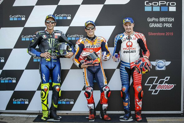 Rossi, Marquez, Miller - steht einer dieser drei Fahrer am Sonntag ganz oben - Foto: Pramac Racing