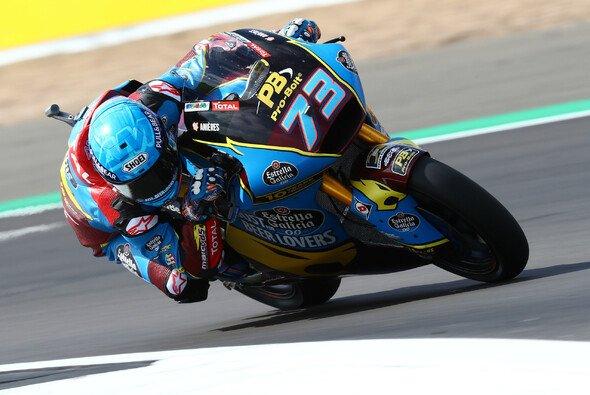 Alex Marquez steht in Aragon auf der Moto2-Pole - Foto: LAT Images