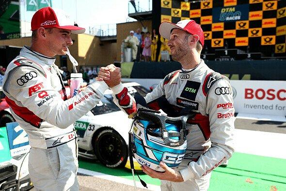 Rene Rast und Nico Müller: Der große Vergleich - Foto: Audi Communications Motorsport