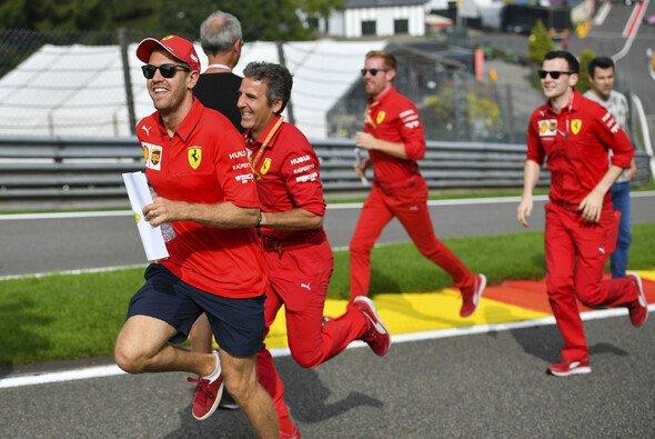 Sebastian Vettel sieht Ferrari in Spa nicht plötzlich allen davonrennen - Foto: LAT Images
