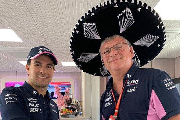 Sergio Perez bleibt weiter im Team von Otmar Szafnauer - Foto: LAT Images