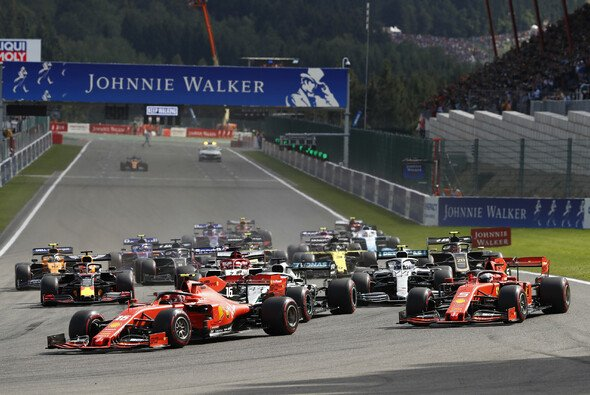 Die Formel 1 in Spa - Foto: LAT Images