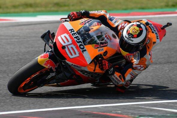 Der Misano-Test war für Lorenzo bald zu Ende - Foto: Repsol Honda Team