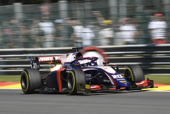 Giuliano Alesi wird bei den Formel-2-Rennen in Monza den Trident-Boliden des Teamkollegen pilotieren - Foto: LAT Images