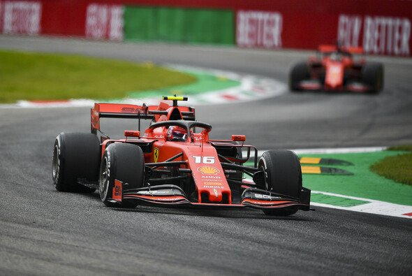 Charles Leclerc sicherte Ferrari im 2. Freien Training der Formel 1 in Monza die zweite Bestzeit des Wochenendes - Foto: LAT Images