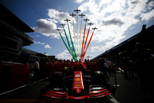 Die Formel 1 startet in Monza ins erste Italien-Rennen der Saison 2020 - Foto: LAT Images