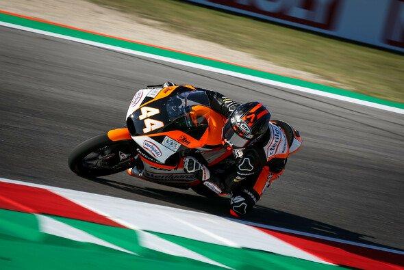 Aron Canet steht in Aragon auf der Moto3-Pole - Foto: Tobias Linke