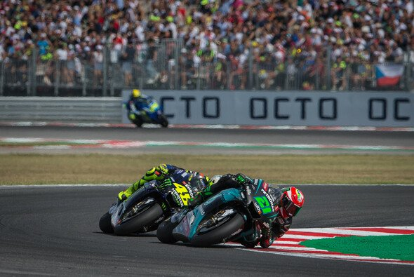 Valentino Rossi kam in Thailand hinter Franco Morbidelli ins Ziel - Foto: Tobias Linke