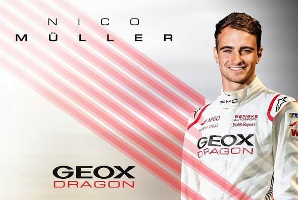 Nico Müller steht vor einem Doppelprogramm aus Formel E und DTM - Foto: Dragon