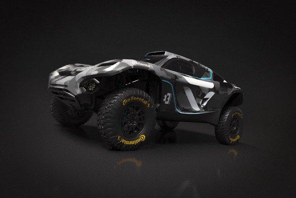 So sieht der Extreme-E SUV des neuen Teams Veloce Racing aus - Foto: Veloca Racing