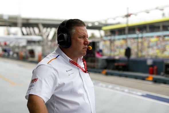 Unter Zak Brown hat McLaren 2019 einen Aufschwung erlebt - Foto: LAT Images
