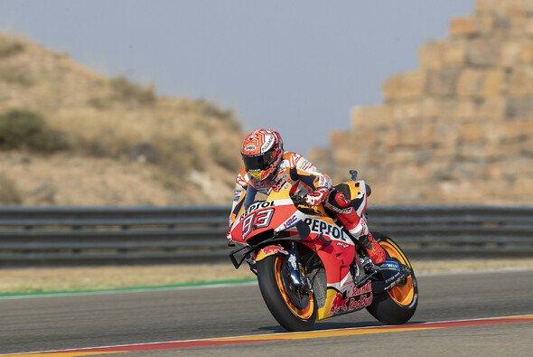 Marc Marquez hatte die Konkurrenz in Aragon im Griff - Foto: Repsol