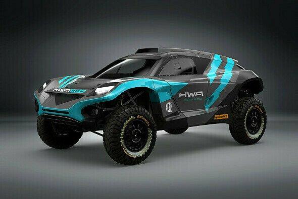 HWA RACELAB zeigt sein neues Fahrzeug für die Extreme E - Foto: HWA