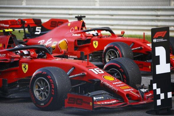 Steht die 1 bei Ferrari auch nach dem dem Rennen? - Foto: LAT Images