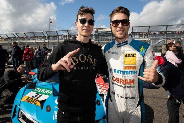 Schnelles Brüderpaar aus Südafrika: Sheldon und Kelvin van der Linde - Foto: ADAC GT Masters