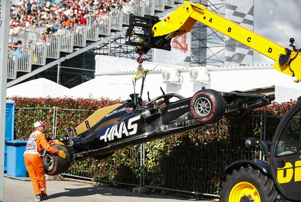 Romain Grosjeans Russland GP war nach vier Kurven vorbei - Foto: LAT Images