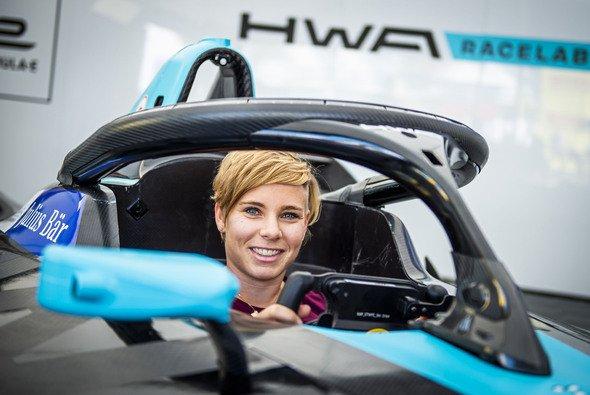 Nici Schmidhofer nahm im Formel-E-Boliden Platz - Foto: Lucas Pripfl/Red Bull Content Pool