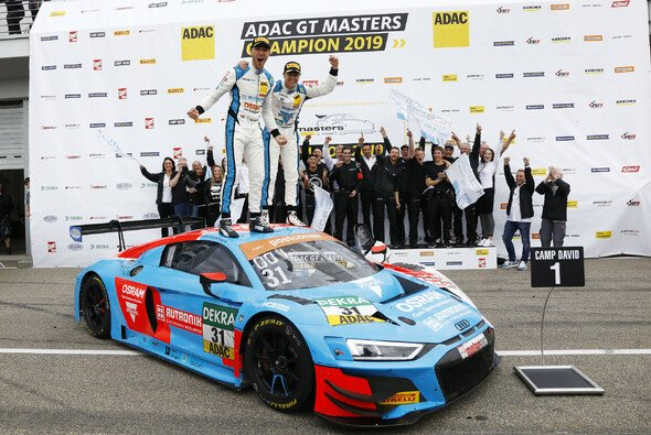 Niederhauser und van der Linde gewannen das Sonntagsrennen auf dem Sachsenring - Foto: ADAC GT Masters