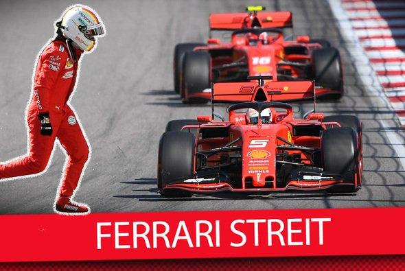 Charles Leclerc will Sebastian Vettel noch vertrauen - Foto: Motorsport-Magazin.com