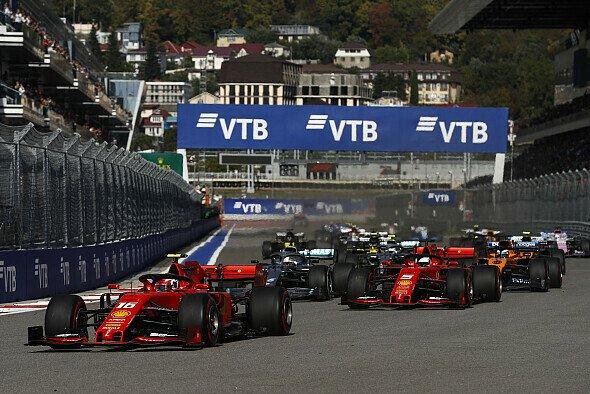Im vergangenen Jahr sorgte Ferrari in Russland mit einer interessanten Taktik für Schlagzeilen - Foto: LAT Images