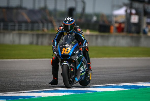 Luca Marini fuhr im Thailand-GP in einer eigenen Liga - Foto: Tobias Linke