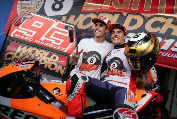 Alex und Marc Marquez fahren 2020 für Repsol Honda - Foto: Repsol Honda Team