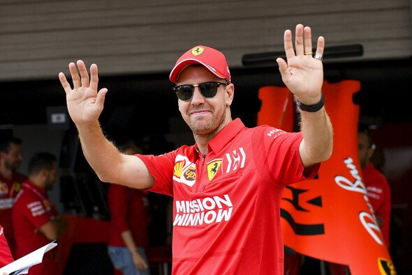 Sebastian Vettel verabschiedet sich von Ferrari - Foto: LAT Images