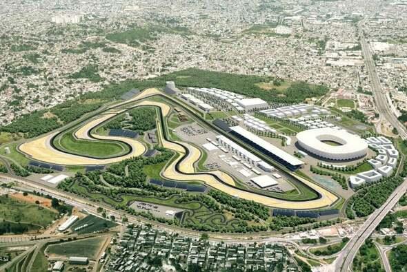 So hätte der Rio Motorpark aussehen sollen - Foto: MotoGP