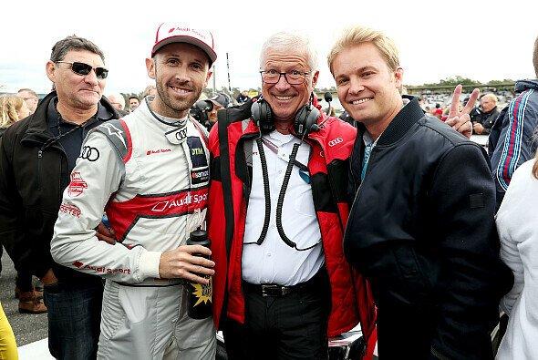Arno Zensen geht nach 25 Jahren bei Rosberg in den Ruhestand - Foto: Audi Communications Motorsport