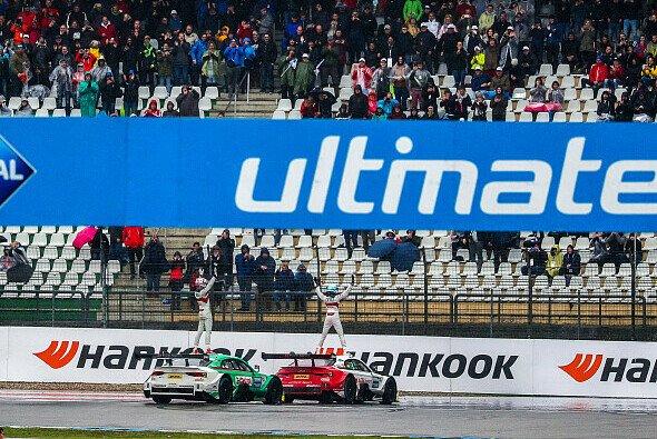 Nico Müller oder René Rast - Wer darf sich in Hockenheim als DTM-Meister 2020 feiern lassen? - Foto: Audi Communications Motorsport